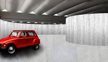 nivel superior garaje